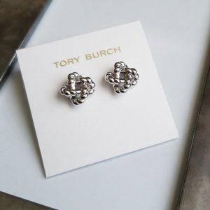 Tory Burch Rope Knot Stud Earrings New wit…